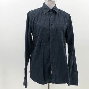 Guess company mens button up long sleeve shirt S